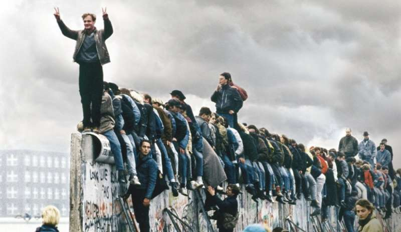 Il muro di berlino