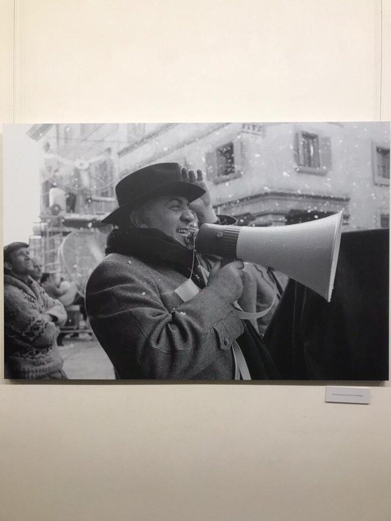 Fellini biblioteca Angelica